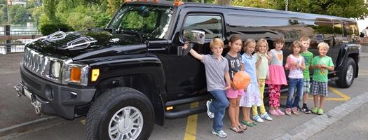 Geburtstag Hummer Limousine 01