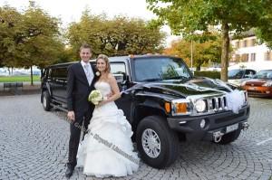 Hummer Hochzeitsauto