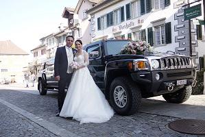 Mauros Hummer Hochzeitslimo