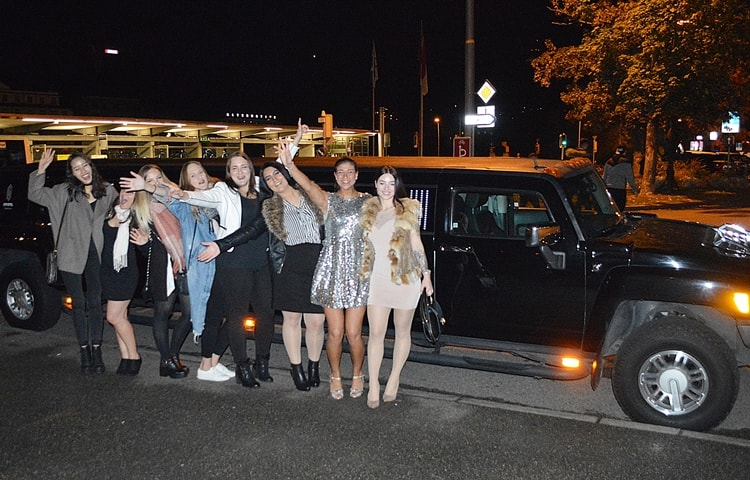 limousine mieten ostschweiz